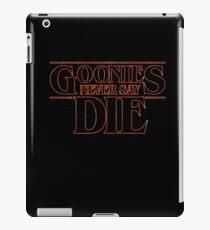 Goonies Never Say Die iPad Case/Skin