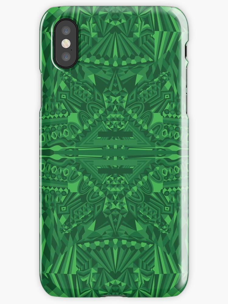 Green Illusion by Christopher Prud'homme
