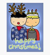 Merthur Christmas Photographic Print