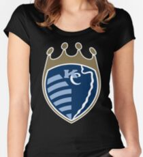 Kansas City Sports Mashup Women's Fitted Scoop T-Shirt