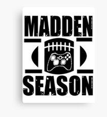 Madden Season Canvas Print