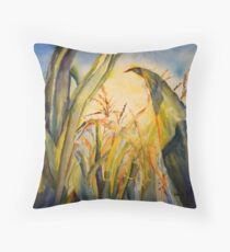 Sun Kissed Corn Throw Pillow