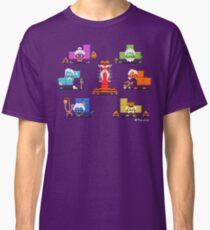 16-bit Old Tetriminos Classic T-Shirt