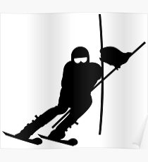 Slalom Skiing VRS2 Poster