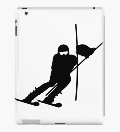 Slalom Skiing VRS2 iPad Case/Skin
