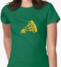 Borderlands Golden Keys Women's Fitted T-Shirt