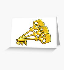 Borderlands Golden Keys Greeting Card