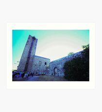 Shot tower, La Tortilla lead smelter, Linares, Spain Art Print