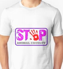 STOP violence against animals! T-Shirt