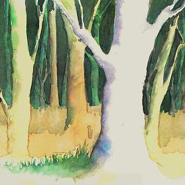 Autumn Forest by errickschild