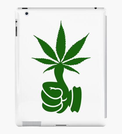 Green Thumb (Weed) VRS2 iPad Case/Skin