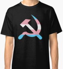 Trans Pride Hammer and Sickle  Classic T-Shirt