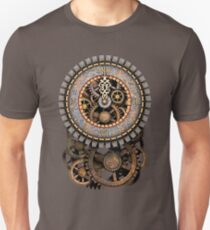Vintage Steampunk Clock (Stopped at Midnight!...OO-Er!!) Steampunk T-Shirts Unisex T-Shirt