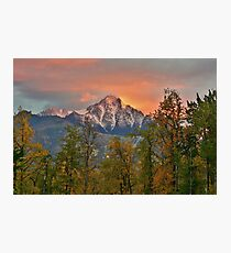 Alaska the beautiful Photographic Print