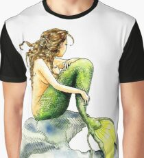 Hans Christian Andersen's The Little Mermaid Graphic T-Shirt