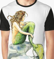 Hans Christian Andersen's The Little Mermaid Graphic T-Shirt