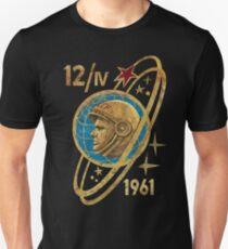 CCCP Yuri Gagarin 12-4-1961 T-Shirt