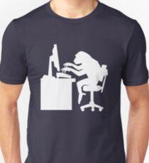 Monkey Pounding the Keyboard T-Shirt
