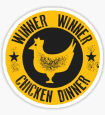 Winner Winner Chicken Dinner Sticker