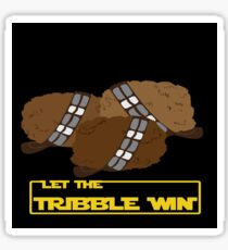Let the Tribble Win Sticker