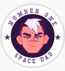 WHOLESOME SPACE DAD Sticker