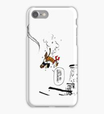 Calvin and Hobbes - Let's Go Exploring iPhone Case/Skin
