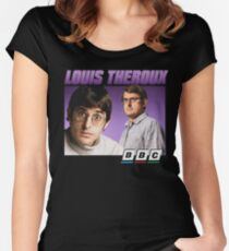 Louis Theroux 90s Alternate Women's Fitted Scoop T-Shirt