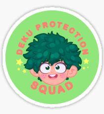 PROTECT DEKU!  Sticker