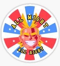 ALL MIGHT!  Sticker
