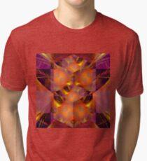 Fractured Fractal Tri-blend T-Shirt