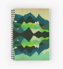 Mountain Reflections Spiral Notebook