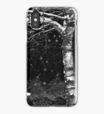 Black and White Winter iPhone Case/Skin