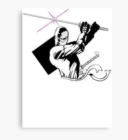Night of the Ninja Canvas Print