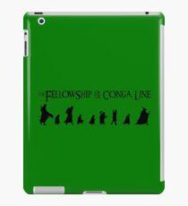 Fellowship of the Conga Line iPad Case/Skin