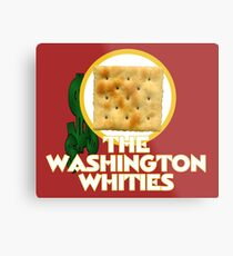 The Washington Whities Metal Print