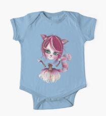 Cheshire Kitty One Piece - Short Sleeve