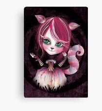 Cheshire Kitty Canvas Print