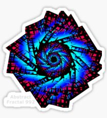 Abstract Fractal 992  Sticker