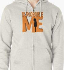 Deplorable Me Zipped Hoodie