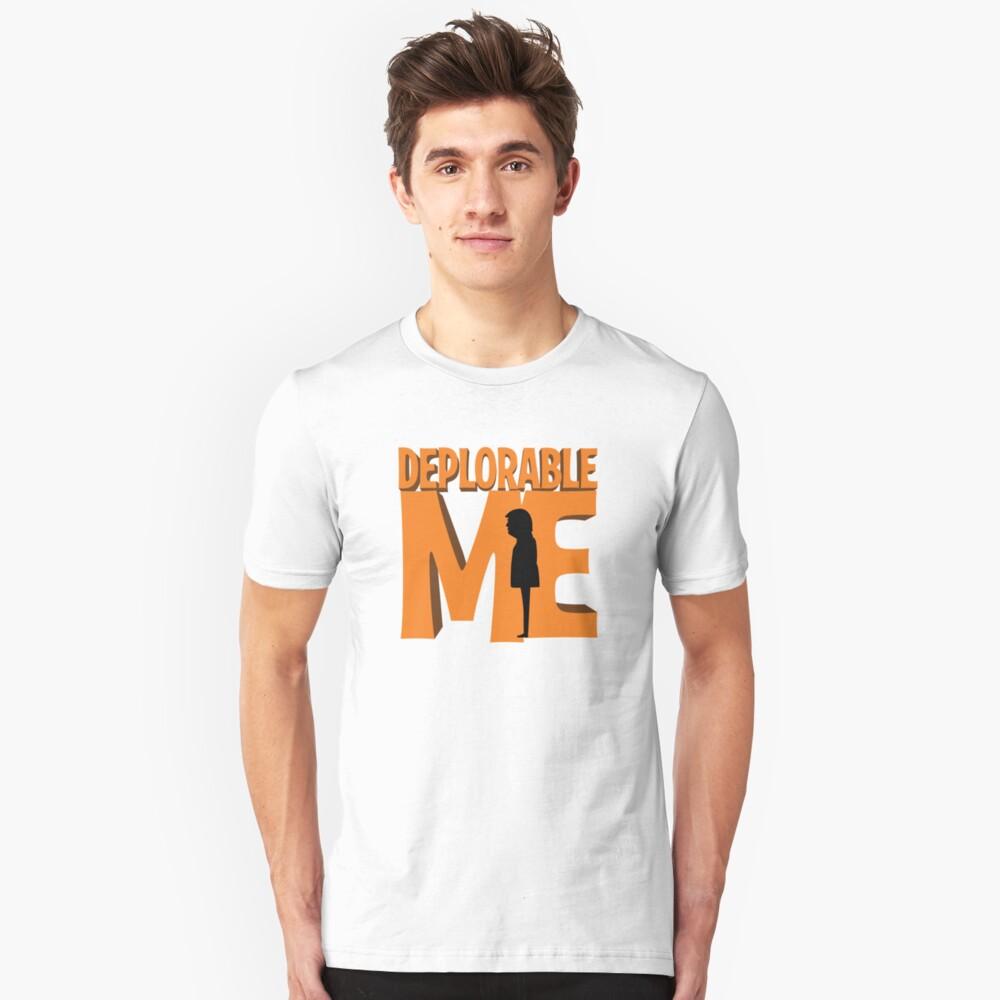 Deplorable Me Unisex T-Shirt Front
