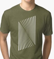 Abstract Lines Tri-blend T-Shirt