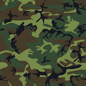 Camouflage Pattern by KayJay28