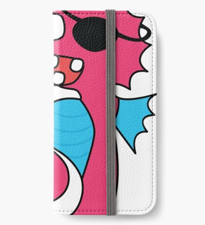 zombie pirate seahorse dangles a donut iPhone Wallet