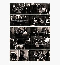 West Wing Team Photographic Print