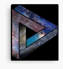 Intergalactic - Triangular Paradox Canvas Print