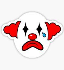 Simple the clown Sticker
