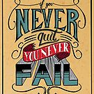 If You Never Quit, You Never Fail - J. Cole by Neil K