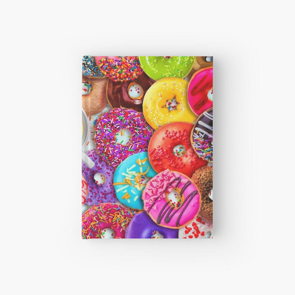Donuts & Coffee Hardcover Journal