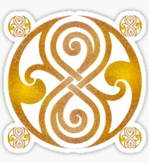 Graffiti Seal of Rassilon Sticker