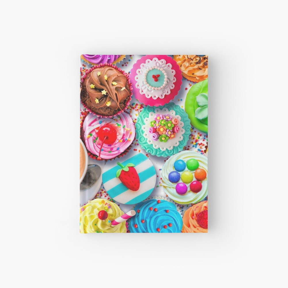 Cupcakes and Cocoa Hardcover Journal